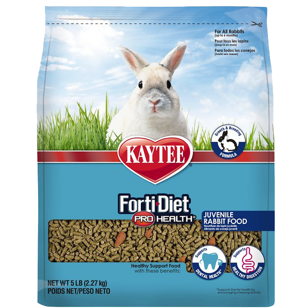 Picture of Kaytee Forti-Diet Pro Health Juvenile Rabbit Food - 5 lb.