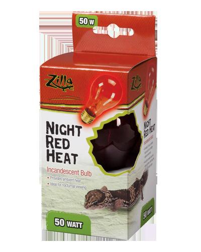 Picture of Zilla Night Red Incandescent Heat Bulb - 50 Watt