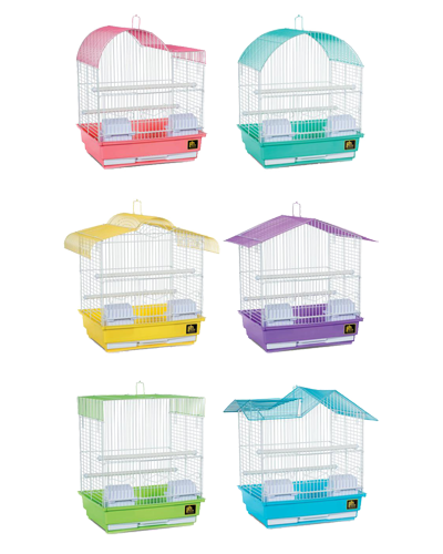 Picture of Prevue Parakeet Bird Cage - 6 Assorted Colors / Shapes