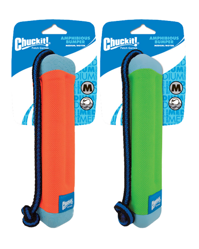 "Picture of ChuckIt! Amphibious Bumper Toy Medium - 10"" Assorted Colors"
