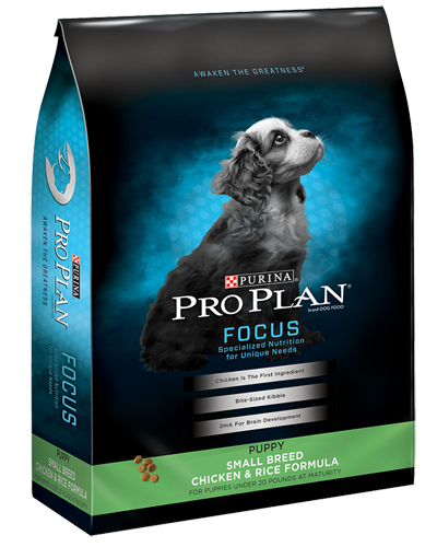 Picture of Purina Pro Plan Focus Puppy Small Breed Chicken & Rice - 34 lbs.