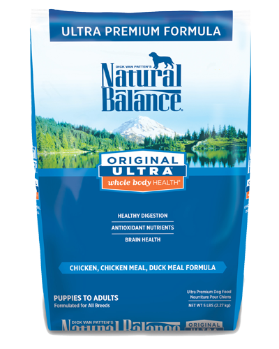Picture of Natural Balance Original Ultra Whole Body Health Chicken, Chicken Meal, and Duck Meal Formula - 5 lb.