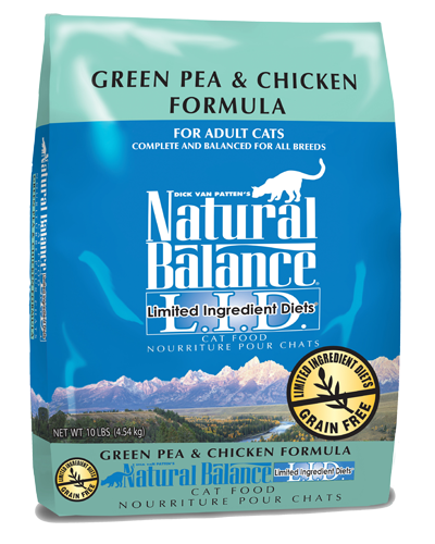 Picture of Natural Balance Limited Ingredient Diet Grain Free Green Pea and Chicken Formula - 10 lb.