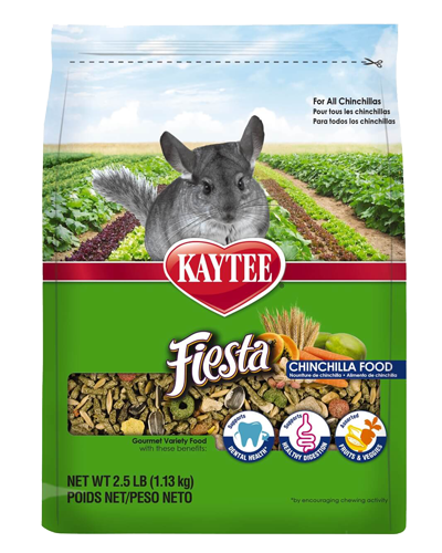 Picture of Kaytee Fiesta Chinchilla Food - 2.5 lb.