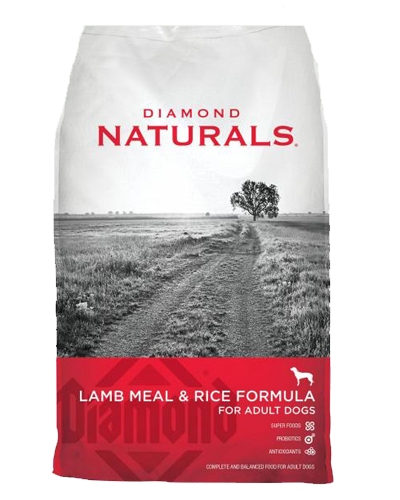 Picture of Diamond Naturals Adult Lamb Meal & Rice - 20 lbs.