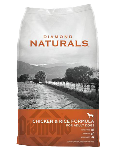 Picture of Diamond Naturals All Life Stages Chicken & Rice - 40 lbs.