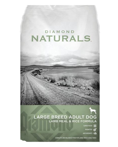 Picture of Diamond Naturals Large Breed Adult Lamb & Rice  - 6 lbs.