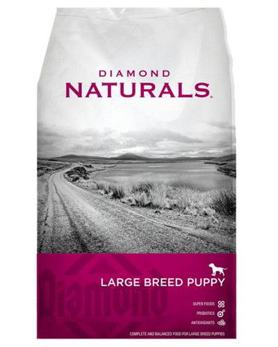 Picture of Diamond Naturals Large Breed Puppy Lamb, Rice, & Vegetable - 20 lbs.