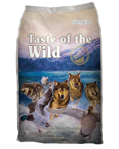 Picture of Taste Of The Wild Grain Free Adult Wetland Recipe with Roasted Fowl - 5 lbs.