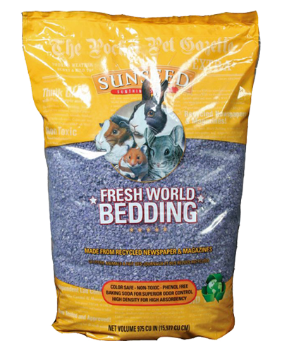 Picture of Sunseed Fresh World Bedding Purple - 16 L