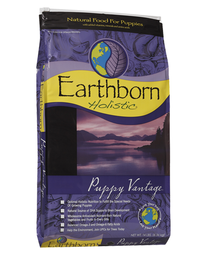 Picture of Earthborn Holistic Puppy Vantage Formula with Chicken Meal - 14 lb.