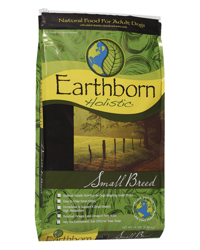 Picture of Earthborn Holistic Small Breed Formula with Chicken Meal - 14 lb.