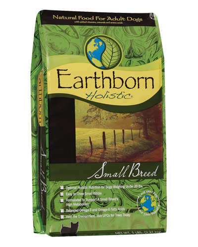 Picture of Earthborn Holistic Small Breed Formula with Chicken Meal - 5 lb.