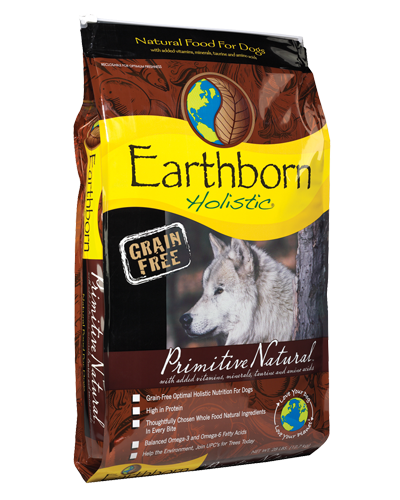 Picture of Earthborn Holistic Grain Free Primitive Natural Formula with Turkey Meal - 28 lb.