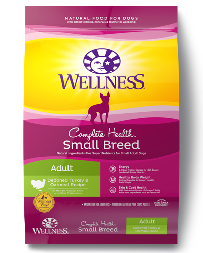 Picture of Wellness Complete Health Small Breed Turkey & Oatmeal - 4 lbs.