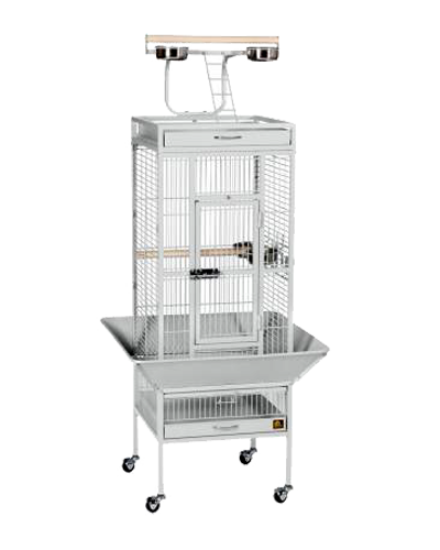 Picture of Prevue Wrought Iron Select Cage in Pewter