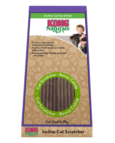 Picture of KONG Naturals Inclined Cardboard Scratcher