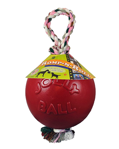 "Picture of Jolly Pet 6"" Romp-N-Roll Red Ball"