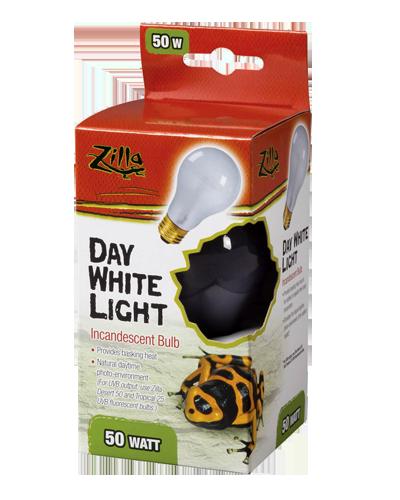 Picture of Zilla Day White Light Incandescent Bulb - 50 Watt