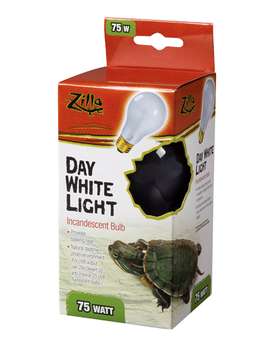 Picture of Zilla Day White Light Incandescent Bulb - 75 Watt