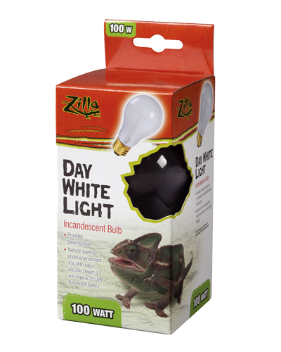 Picture of Zilla Day White Light Incandescent Bulb - 100 Watt