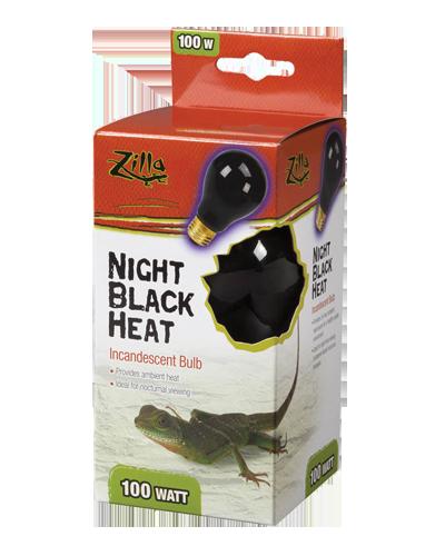 Picture of Zilla Night Black Heat Incandescent Bulb - 100 Watt