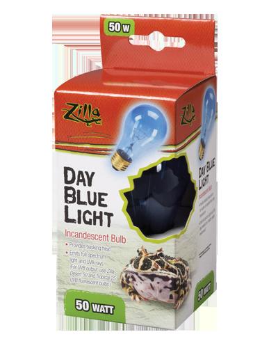 Picture of Zilla Day Blue Light Incandescent Bulb - 50 Watt