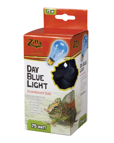 Picture of Zilla Day Blue Light Incandescent Bulb - 75 Watt