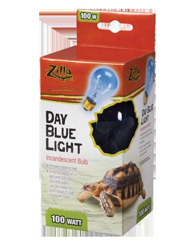 Picture of Zilla Day Blue Light Incandescent Bulb - 100 Watt