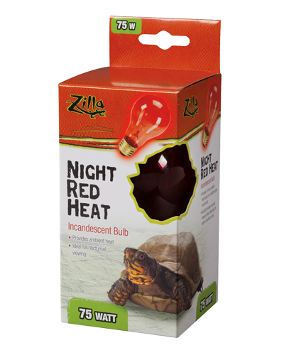 Picture of Zilla Night Red Incandescent Heat Bulb - 75 Watt