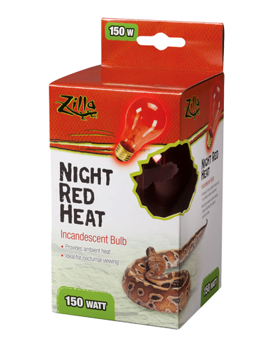 Picture of Zilla Night Red Incandescent Heat Bulb - 150 Watt