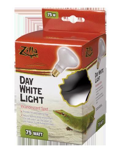 Picture of Zilla Day White Light Incandescent Spot Bulb - 75 Watt