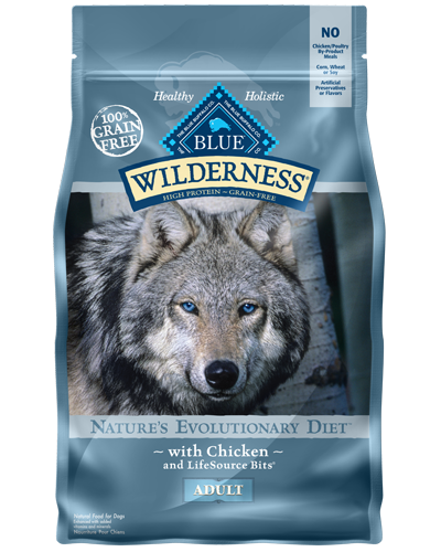 Picture of Blue Buffalo Wilderness Grain Free Chicken - 4.5 lb.
