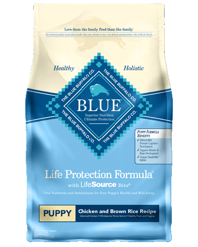 Picture of Blue Buffalo Life Protection Formula Chicken and Brown Rice Recipe for Puppies - 6 lb.