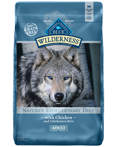 Picture of Blue Buffalo Wilderness Grain Free Chicken - 24 lb.