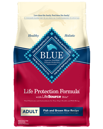 Picture of Blue Buffalo Life Protection Formula Fish and Brown Rice Recipe - 15 lb.