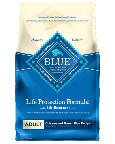 Picture of Blue Buffalo Life Protection Formula Chicken and Brown Rice Recipe - 30 lb.