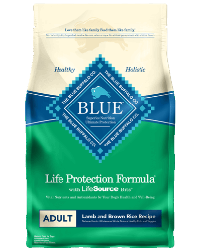 Picture of Blue Buffalo Life Protection Formula Lamb and Brown Rice Recipe - 30 lb.