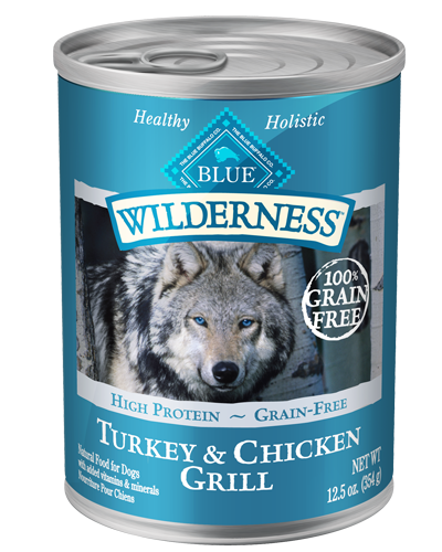 Picture of Blue Buffalo Wilderness Grain Free Turkey and Chicken Grill - 12.5 oz.