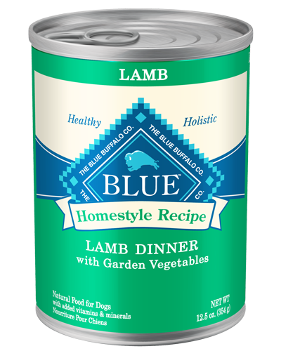Picture of Blue Buffalo Homestyle Recipe Lamb Dinner with Garden Vegetables - 12.5 oz.