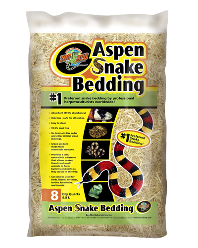 Picture of ZooMed Labs Aspen Snake Bedding - 8 qt.