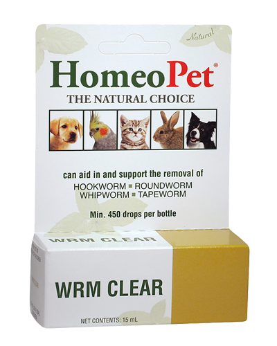 Picture of HomeoPet Worm Clear - 1 oz