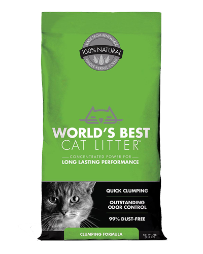 Picture of World's Best Cat Litter Clumping Litter - 7 lb.