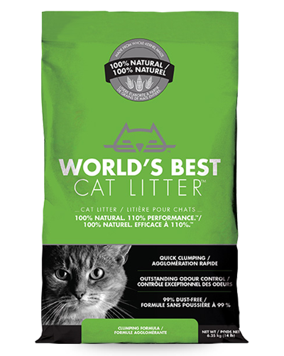 Picture of World's Best Cat Litter Clumping Litter - 14 lb.
