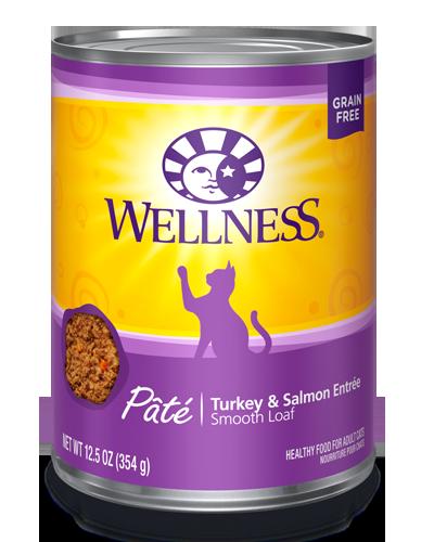 Picture of Wellness Grain Free Complete Health Pâté Turkey & Salmon - 12.5 oz.