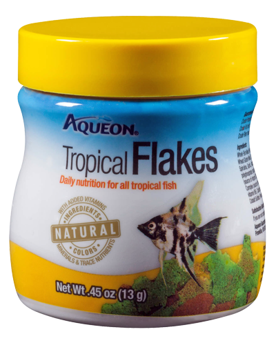 Picture of Aqueon Tropical Flakes - .45 oz.