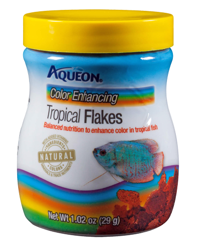 Picture of Aqueon Color Enhancing Tropical Flakes - 1.02 oz.