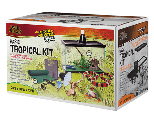 Picture of Zilla Basic Tropical Reptile Starter Kit - 10 Gallon