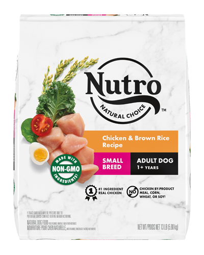 Picture of Nutro Wholesome Essentials Small Breed Adult Farm-Raised Chicken, Brown Rice, & Sweet Potato - 15 lbs.