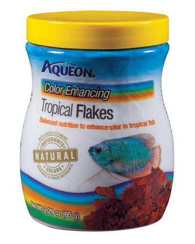 Picture of Aqueon Color Enhancing Tropical Flakes - 2.29 oz.